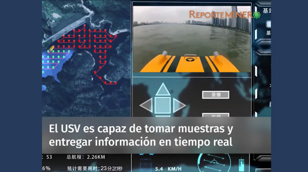 Chile media highlights Oceanalpha's USV