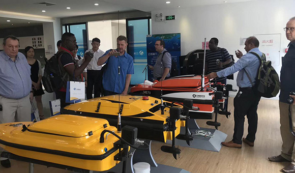 The 5th Oceanalpha USV technology workshop held Successfully