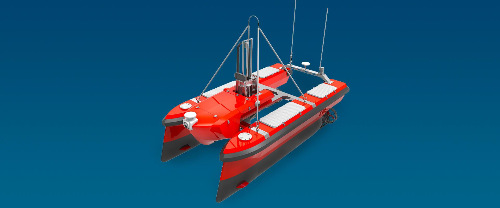M40 Autonomous Hydrographic Survey Boat image