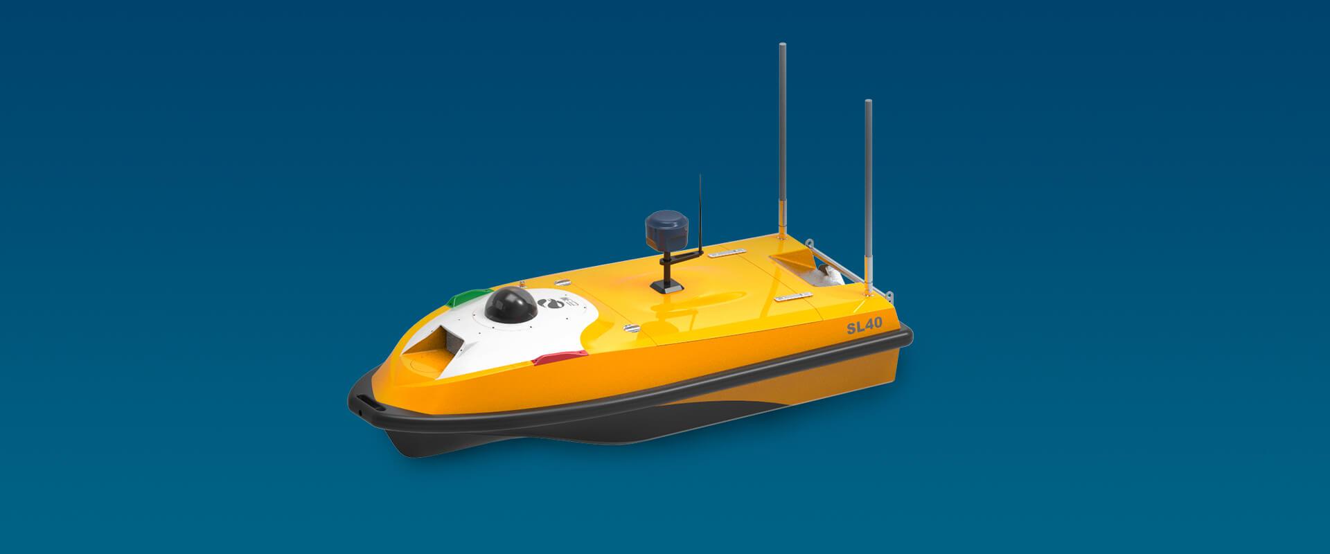 SL40 Autonomous Survey Boat image