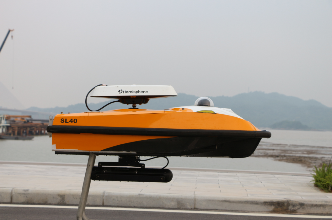 SL40 unmanned surface vehicle/drone boat with side scan sonar