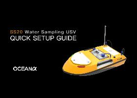 SS20 water sampling unmanned surface vehicle
