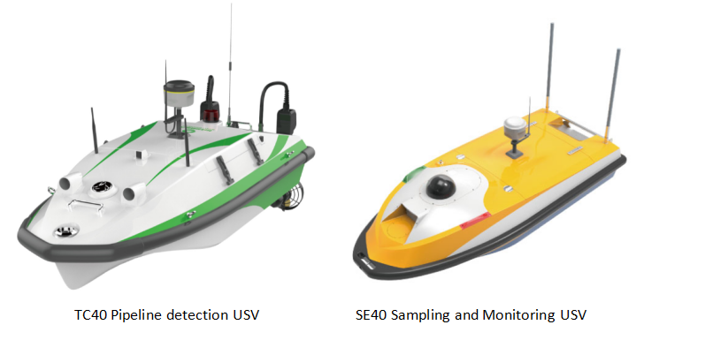 USV Conducts Sewage Pipeline Detection and Water Quality Monitoring