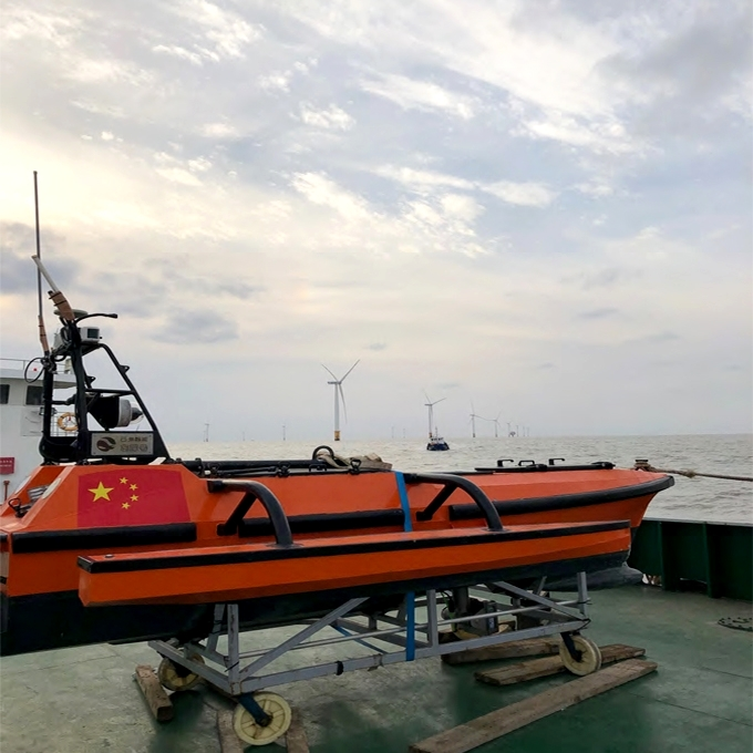 China Offshore Wind Farm Apply USV Intelligence Maintenance Solution