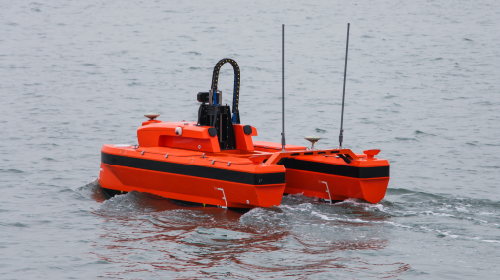 M40USV detects oil pipeline