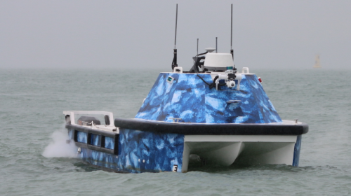 L25 large unmanned surface vehicle for oceanography survey