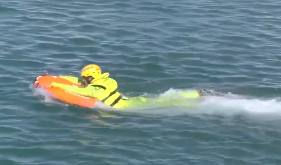 Lanzarote Security and emergency bodies see Dolphin 1 in action
